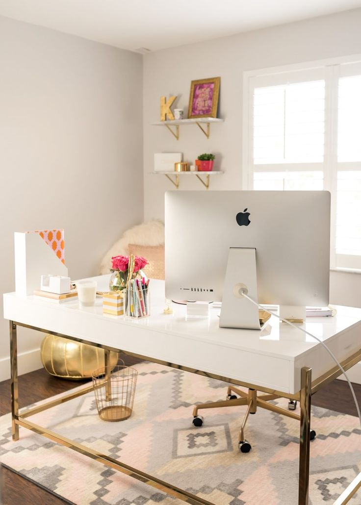 Unique Creative Office Desk Ideas Best 25 White Office Ideas On Pinterest White Office Decor