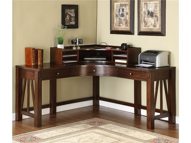 Unique Dark Wood Desks For Home Office 37 Best Home Office Images On Pinterest Office Spaces Desks And