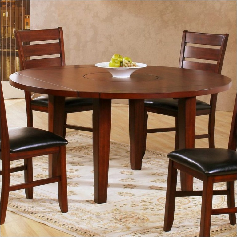 Unique Dark Wood Round Table Dining Room Marvelous Glass Top Dining Table Set Dark Wood Round