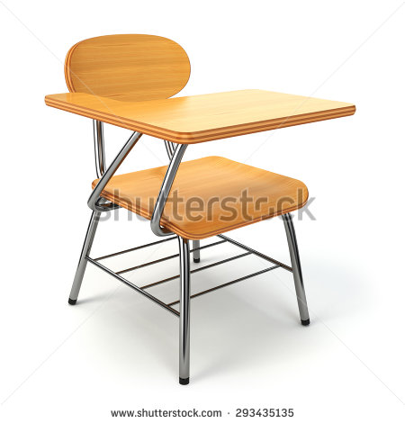 Unique Desk And Chair School Desk Chair Stock Images Royalty Free Images Vectors