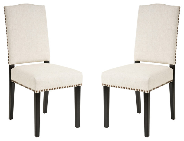 Unique Dining Room Chairs With Studs Dining Room Chairs With Nailhead Trim Houzz