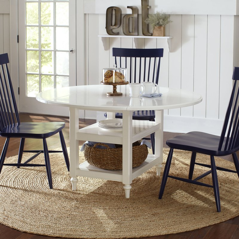 Unique Dining Room Tables With Leaves Burke Drop Leaf Dining Table Reviews Birch Lane