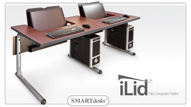 Unique Double Computer Desk Workstation Smartdesks Computer Tables Ilid Computer Tables And Workstations