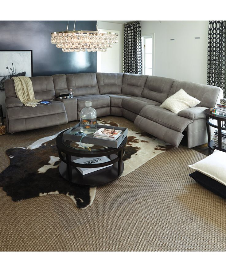 Unique Fabric Sectional Sofa With Recliner Best 25 Reclining Sectional Ideas On Pinterest Reclining