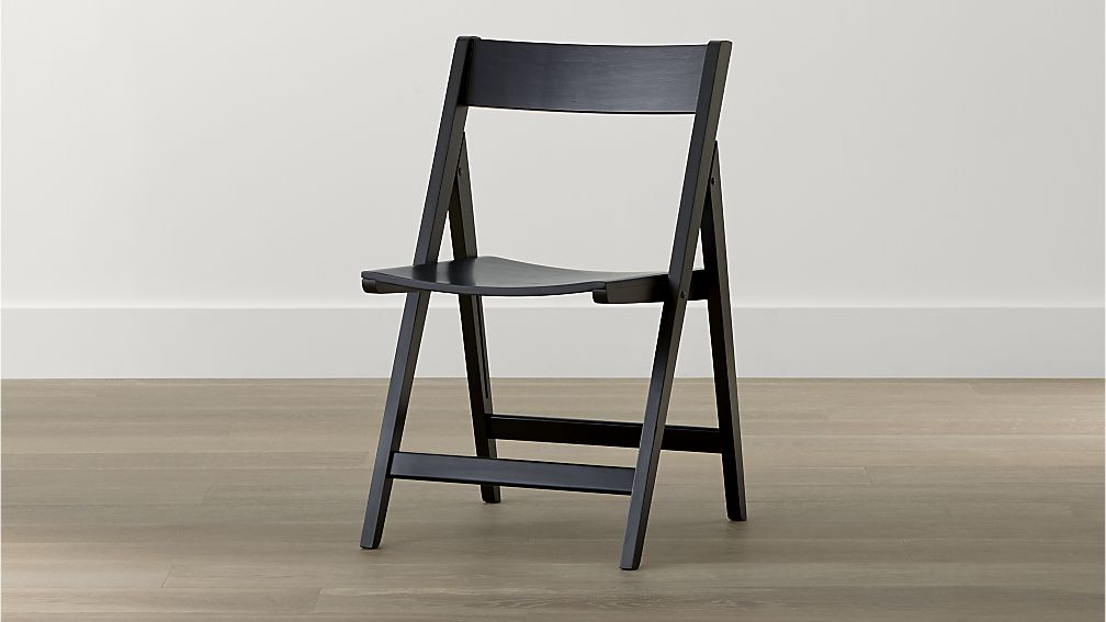 Unique Folding Dining Chairs Spare Black Folding Wood Dining Chair Crate And Barrel