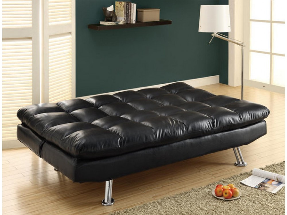 Unique Full Size Leather Futon Black Leather Futon Sofa 13 Wonderful Black Leather Futon Picture