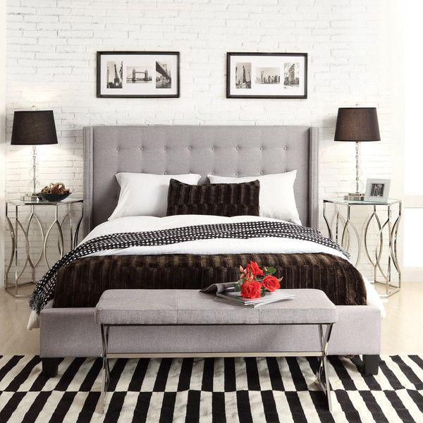 Unique Full Size Upholstered Bed Frame Best 25 Upholstered Headboard Queen Ideas On Pinterest Queen