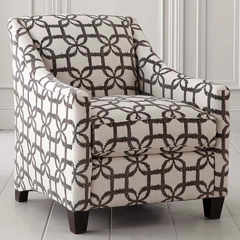 Unique Grey And White Accent Chair Upholstered Grey And White Accent Chair