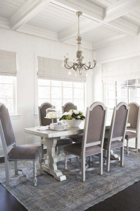 Unique Grey Studded Dining Room Chairs Velvet Dining Chairs With Nailhead Trim Design Ideas