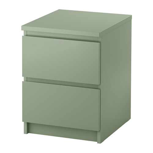 Unique Ikea 2 Drawer Night Stand Malm 2 Drawer Chest Light Green 15 34x21 58 Ikea