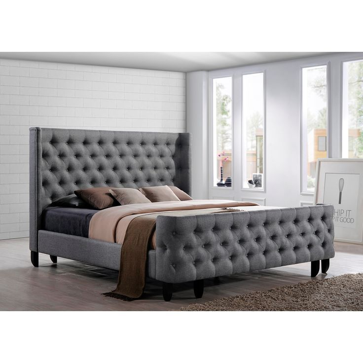 Unique King Bed Frame Headboard And Footboard Best 25 Upholstered King Bed Frame Ideas On Pinterest King Size