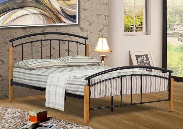Unique King Size Metal Bed Base 3ft 4ft 4ft6 Double Or 5ft King Size Modern Metal Bed Frame With