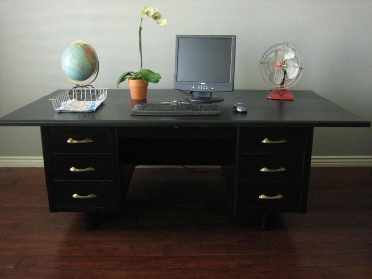 Unique Large Computer Desks For Home 25 Best Desks Images On Pinterest Large Computer Desk Pedestal