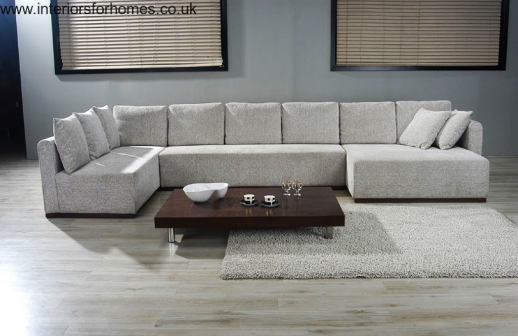 Unique Large L Shaped Sectional Sofas Amazing Large Sofas With Double Chaise Sectional Sofa Large U