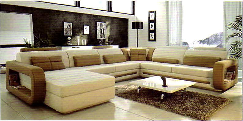 Unique Large Leather Sectional Couch Italian Leather Sectional Sofa Vcal 05 Leather Sectionals