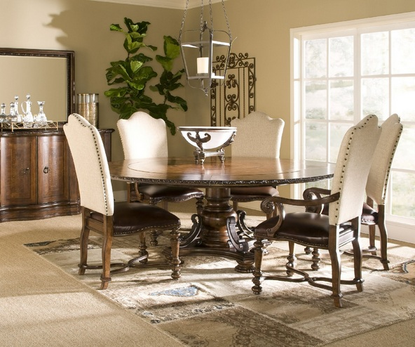 Unique Leather And Fabric Dining Room Chairs Leather Fabric Dining Room Chairs Ideas For Antique Round Dining