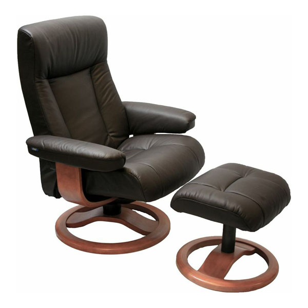 Unique Leather Chair And Ottoman Magnificent Chairs With Ottoman Scansit 110 Ergonomic Leather