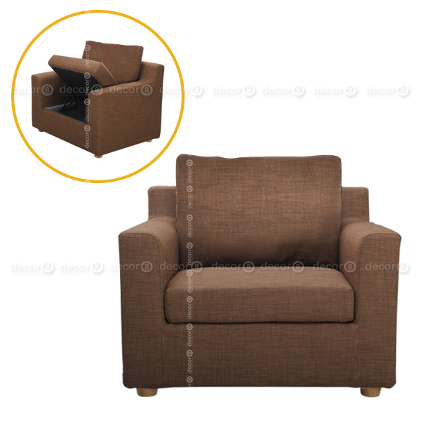 Unique Lounge Chair With Storage Best Fabric Sofa Hong Kong Carel Fabric Single Seater Sofa And
