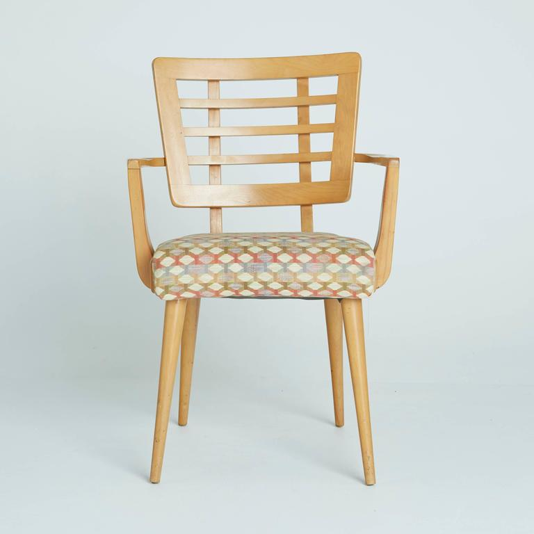 Unique Maple Dining Chairs 1950s American Modern Maple Dining Chairs For Sale At 1stdibs