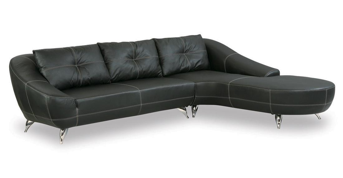 Unique Modern Black Leather Couch Modern Black Leather Sofa Coredesign Interiors