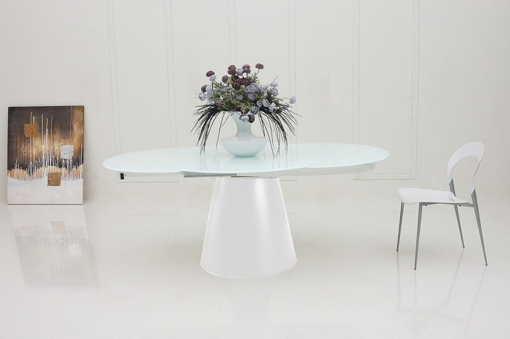 Unique Modern Round Extendable Dining Table Modern Round Extendable Dining Table 6433