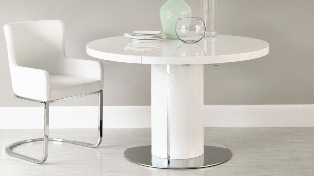 Unique Modern Round White Dining Table Dining Tables Unique Round White Dining Table Ideas Large White