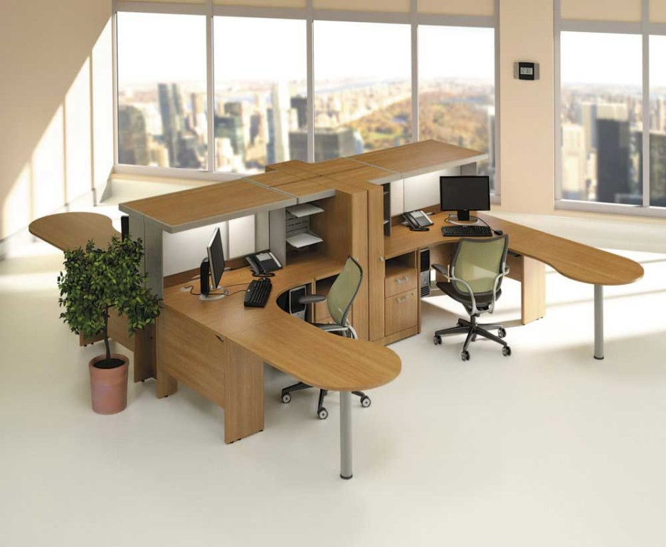 Unique Modular Desks Home Office Home Office Modular Home Office Furniture Idea With Brown U Shaped