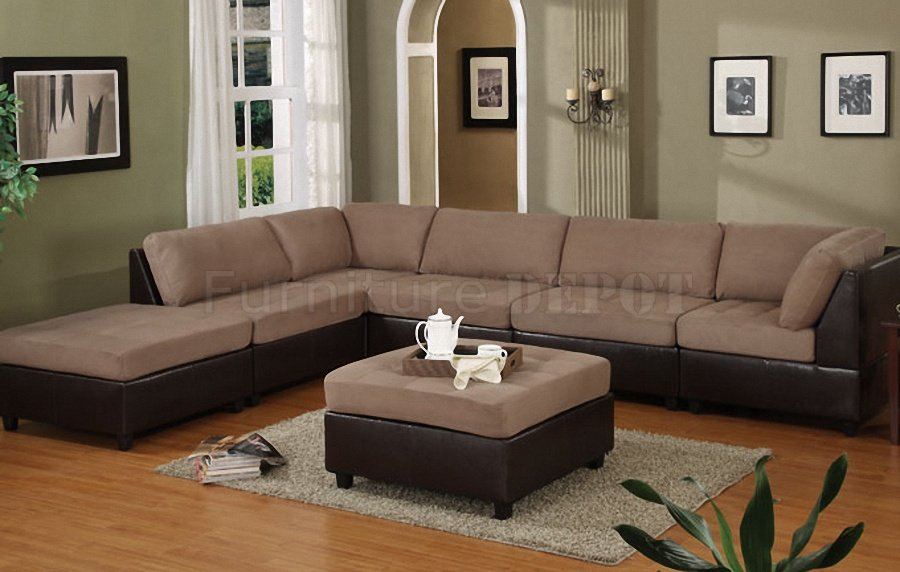 Unique Modular Sectional Sofa Microfiber Sectional Microfiber Sofas