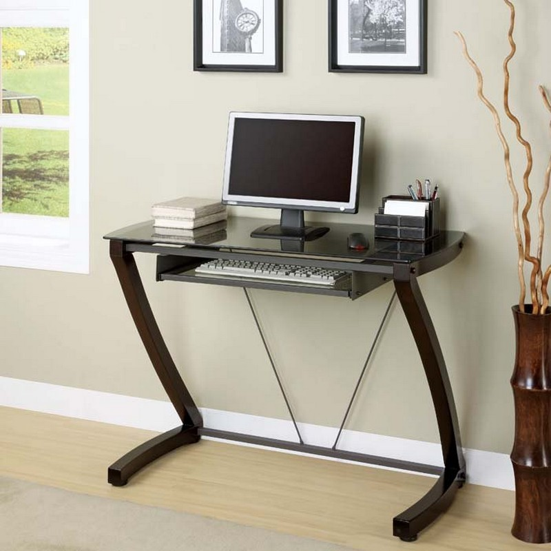 Unique Narrow Computer Desk Choosing Small Computer Desk For Your Small Office The Decoras