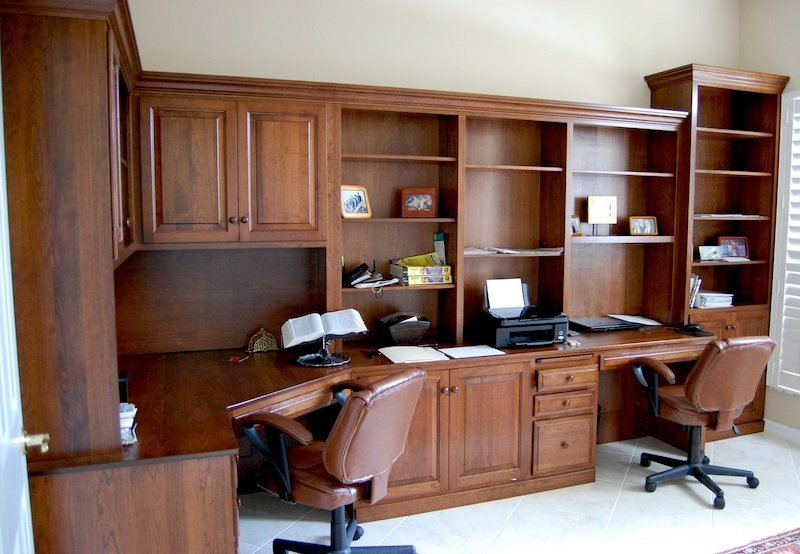 Unique Office Chair With Built In Desk Wall Units Inspiring Custom Built Office Cabinets Custom Built