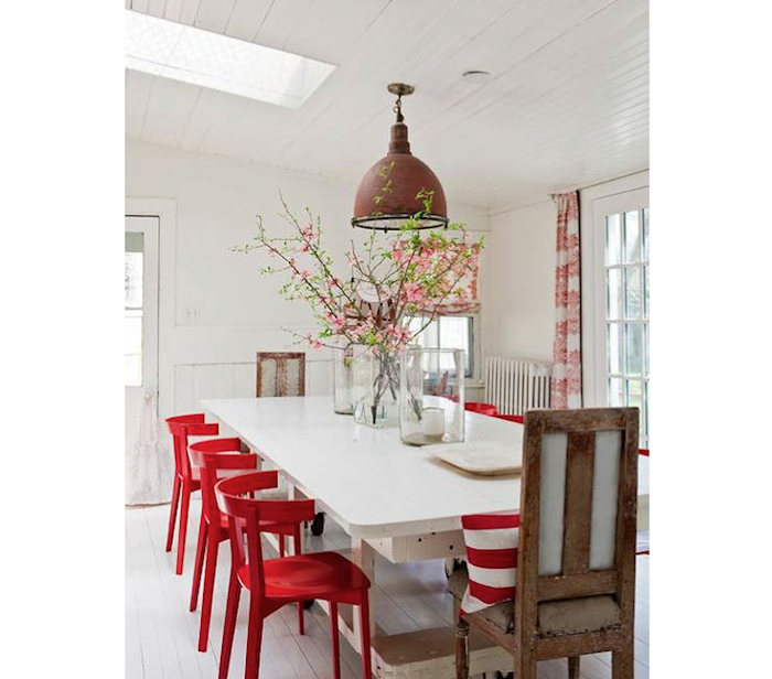 Unique Red Dining Chairs 10 Easy Pieces Red Dining Chairs Remodelista