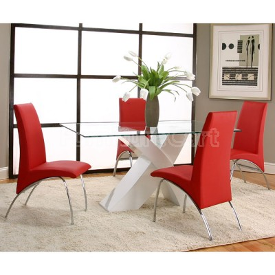 Unique Red Dining Room Chairs Dining Room Chairs Red Glamorous Dining Room Chairs Red Home