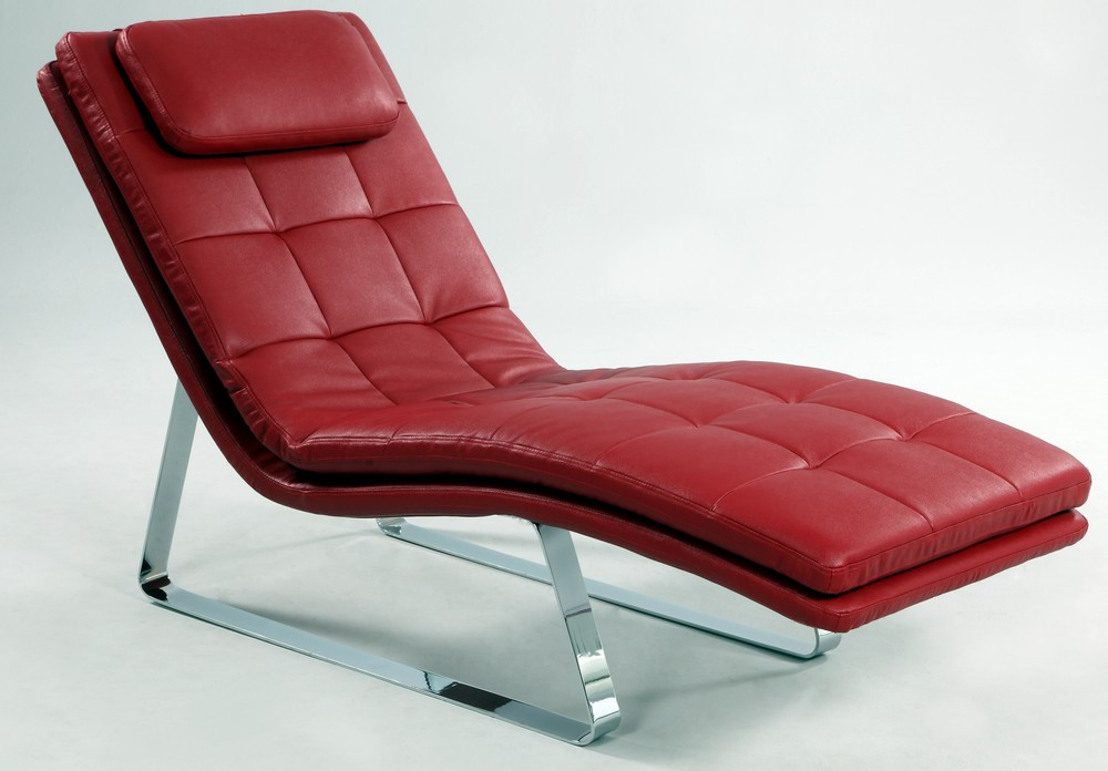 Unique Red Leather Chaise Lounge Lounge Sphinx Woven Fabric Chaise Contemporary Indoor Regarding