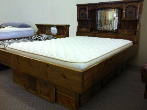 Unique Regular Mattress In Waterbed Frame Campbell Deluxe Waterbed Insert Mattress California King