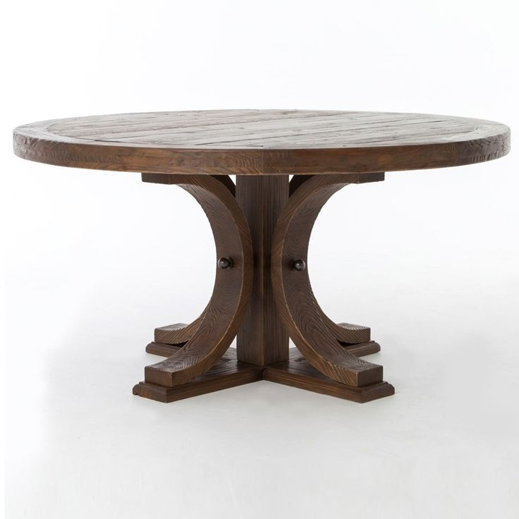 Unique Round Solid Wood Dining Table Best 25 Round Pedestal Tables Ideas On Pinterest Pedestal