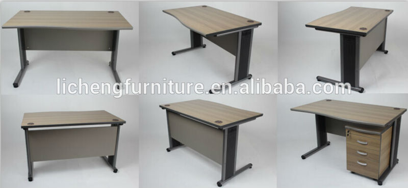 Unique Simple Office Table Hot Sale Simple Wood Office Desk With Metal Legsoffice Table