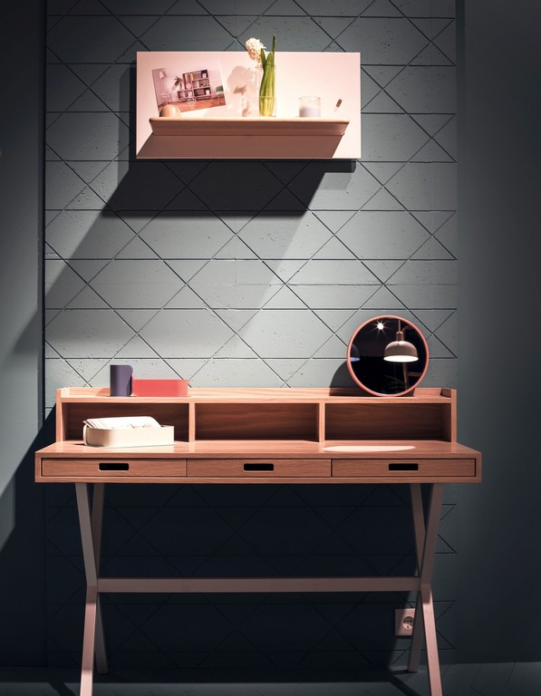 Unique Slim Home Office Desk Slim Desk With Smart Drawers For The Home Office Ideas Eva Furniture