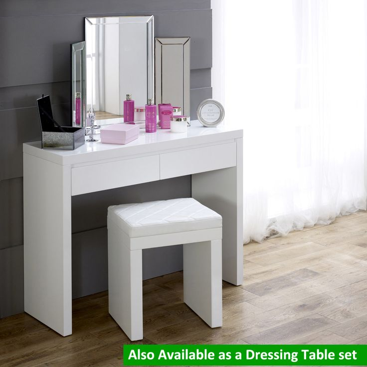Unique Small White Makeup Table Best 25 White Gloss Dressing Table Ideas On Pinterest Dressing