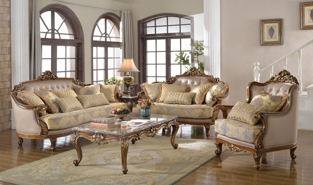Unique Sofa Loveseat Chair Sets Fontaine Traditional Living Room Set Sofa Love Seat Chair Exposed