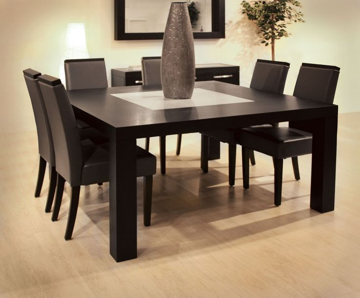Unique Square Dining Table Dining Table Sets Wood Modern Dining Room Pinterest Square
