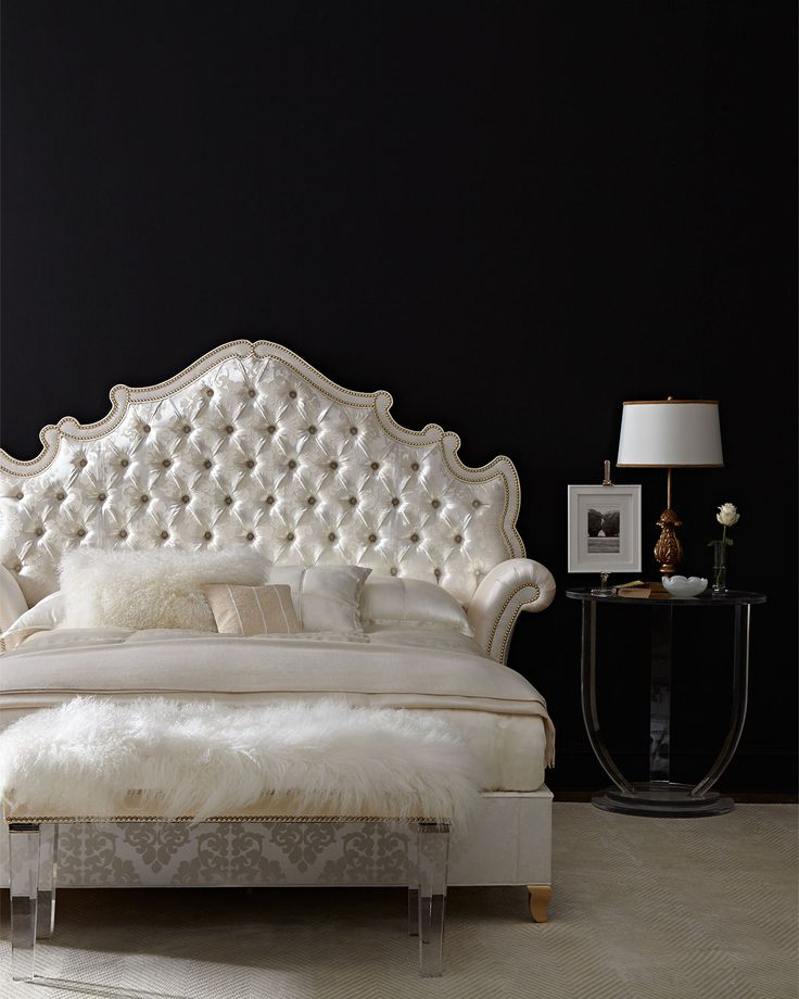 Unique Tufted Cal King Bed Frame 84 Best Beautiful Bedrooms Images On Pinterest Beautiful