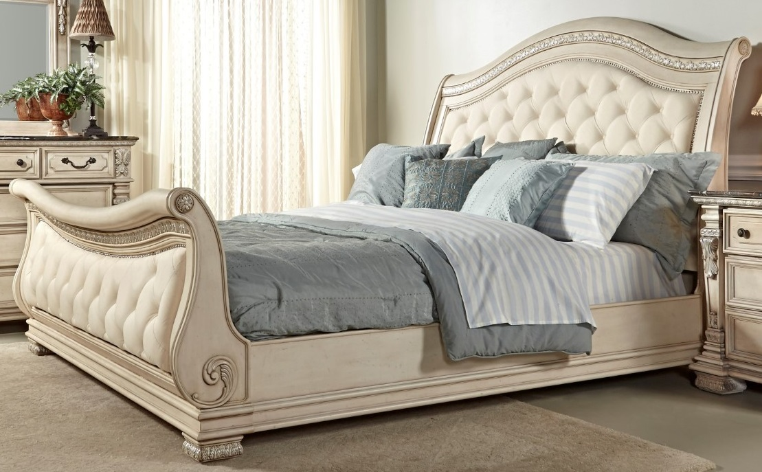 Unique Tufted Cal King Bed Frame California King Sleigh Bed Tufted California King Size Bed Frame