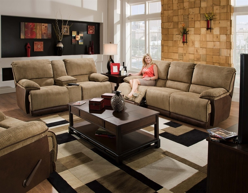 Unique Two Piece Sofa Set Clayton 2 Piece Power Reclining Sofa Loveseat Set In Two Toned