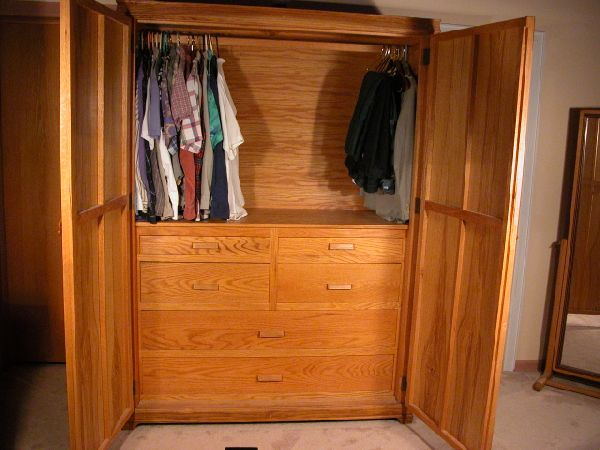 Unique Wardrobe Armoire For Hanging Clothes The Home