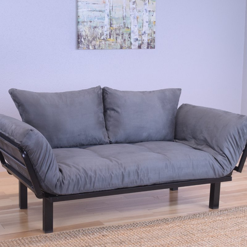 Unique White Futon With Arms Futons Youll Love Wayfair
