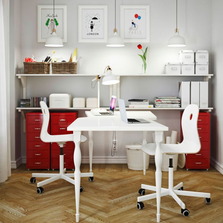 Unique White Office Furniture Ikea 207 Best Home Office Images On Pinterest Office Spaces Home