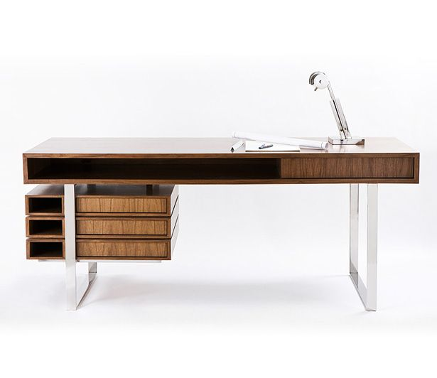 Unique Wood Desk Designs Best 25 Modern Desk Ideas On Pinterest Desk Modern Office Desk
