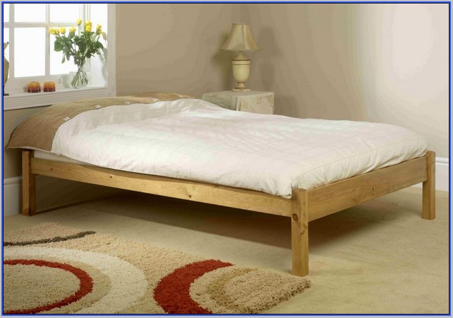 Unique Wooden Bed Frame Without Headboard Wooden Bed Frame Without Headboard 9923