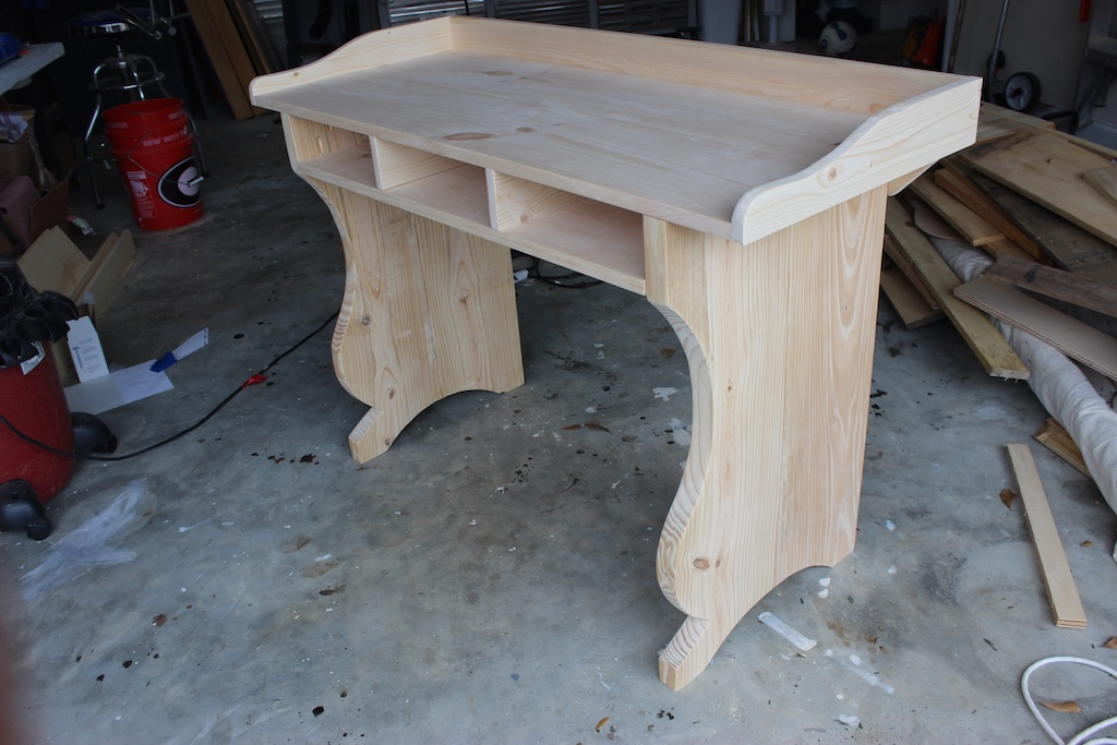 Unique Writing Desk Plans Diy Sicily Writing Desk Free Plans Pottery Barn Inspired