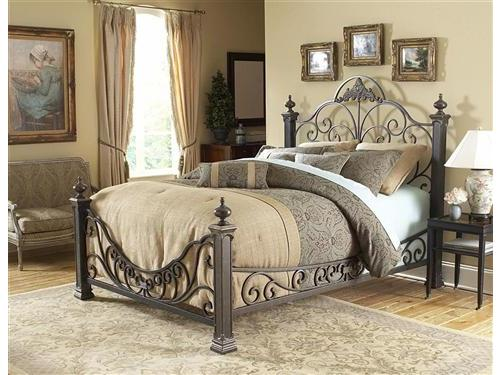 Unique Wrought Iron Bed Frame Lovable Metal King Size Headboard Wrought Iron Beds Iron Beds And